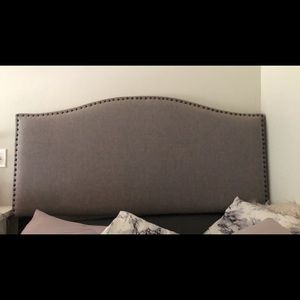 Queen head board